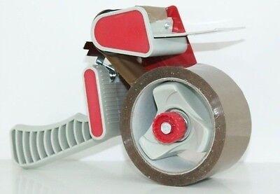 1 Profi Abroller für Klebeband Packband Paketband Handabroller Paketklebeband