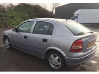 2000 W Reg Vauxhall Astra 1.6 CD Petrol 5 Speed