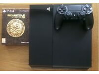PS4 Jet Black 500GB