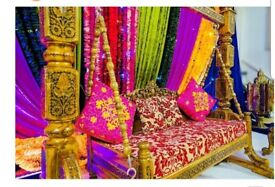 Wedding stage, Mehndi stage and all your wedding needs covering London,Essex,Kent and Surrey