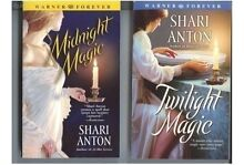 SHARI ANTON 2 x books Twilight Magic & Midnight Magic std PB *HTF Thornlie Gosnells Area Preview
