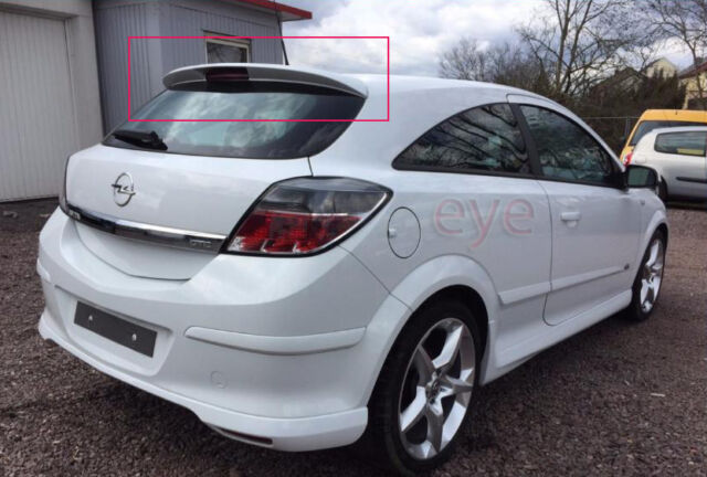 opel vauxhall astra h mk 5 3d gtc rear roof spoiler opc. Black Bedroom Furniture Sets. Home Design Ideas