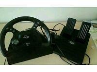 Sony playstation PS1 steering wheel