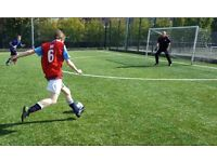 Play football in south london, play casual football in south london, play league football in London