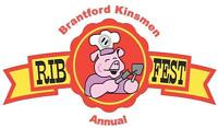 Vendors Wanted for Brantford Kinsmen Ribfest