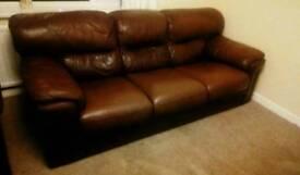 Violino luxury italian leather 3 seater sofa and 2 seater sofa