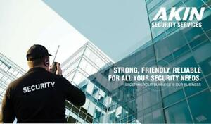 Looking for Security Guards / Mall cop / Private Investigation / Cash delivery  call Akin Force- 416-993-7512