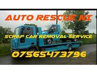 Scrap cars vans trucks tractors wanted