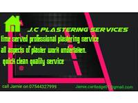 J.c plastering services