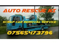 Scrap cars removal cars vans trucks