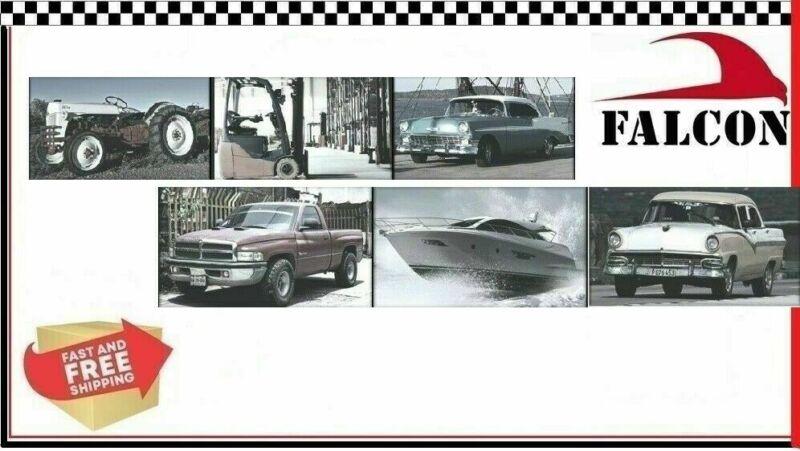 Hastings 2M139 MOLY Piston Ring Set Chevy SBC 327 350 383 5//64 5//64 3//16 STD
