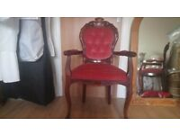 French Louis Carver Chair's ......Shabby Chic Project? I am selling 2