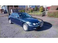 2002 rover 75 conniseur, full years mot, lovely family car, £750 may swap p/x why try me
