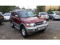 MITSUBISHI PAJERO 3.2 DI-D EXCEED SWB AUTOMATIC 3dr **PERFECT ENGINE & GEAR BOX**DVD PLAYER SYSTEM**