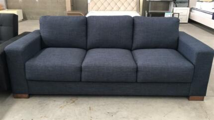 Brand New Thick cushion sofa 2/3 seaters in storm/taupe