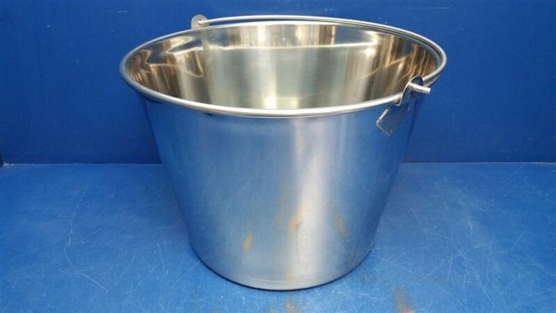 Stainless Steel Round Bucket 5 Gallon BKT-SS-500