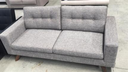Brand New 2/3 Seaters Modern Sofa Mink/Charcoal