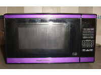 Morphy Richards Microwave Oven; Model EM820CPT(F)-PM; Purple