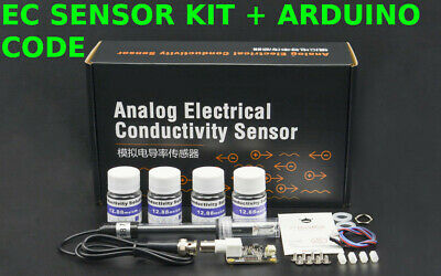 Sensor Kit Soil Temp Humidity Electrical Conductivity Ec Sensor Arduino