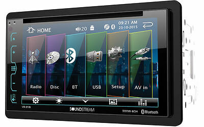 NEW SOUNDSTREAM VR-65B 2-DIN 6.2