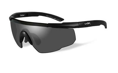 Wiley X Saber Advanced Smoke Protective Eyewear Tactical Military Safety Glasses