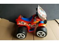 Paw Patrol Electric Quad 6v Ride on