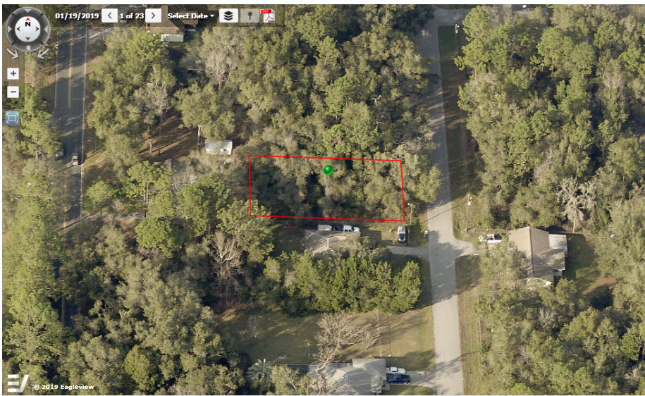 REAL ESTATE NO RESERVE, BEAUTIFUL LOT For SALE IN INVERNESS FLORAL CITY FL - $7,989.00