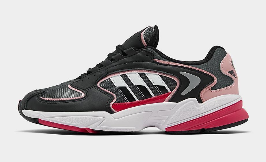 Adidas Originals Falcon 2000 Women Running Casual Shoes Blac