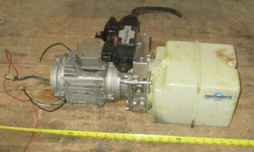 International Fluid Power Hydraulic Pump Power Unit