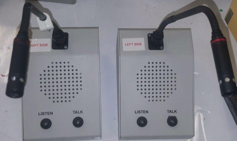 2x Tech Works DODC-1 Detention Operator Desk Console