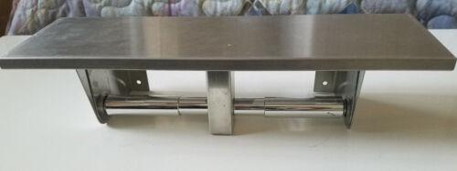 Bobrick Dual Paper Towel Holder Utility Shelf