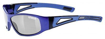 Uvex Sportstyle 509 Kinder-Sportbrille mit Kopfband - blue