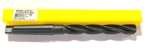 "Morse 27/32"" Core Drill Taper Shank 3MT HSS 118° 4 Flute USA Made 16087"