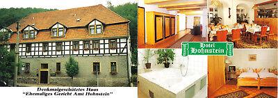 Doppel-AK, Neustadt Harz, Hotel Hohnstein, um 1995