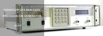 Noisecom Ufx-ber-catv 50-860 Mhz Precision Cn Noise Generator Look Ref 191g
