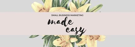 Small Business Marketing Services // Marketing Assistant