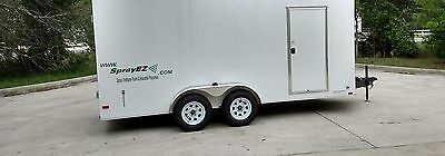 Spray Foam Equipment Trailer Package With 30lb Per Minute Machine