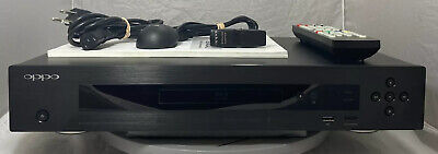 OPPO BDP-103D Universal 3D Blu-ray Player W/ Remote And Wireless Adapter Clean!!