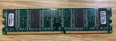 Valueram Dimm Memory - Kingston ValueRam 256MB DDR DIMM Memory KVR333X64C25/256 - Tested Working Pull