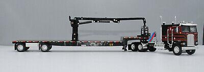 DCP BLACK KW100 FLATTOP COE TRANSCRAFT STEPDECK SELF LOADING ARM 1/64 60-0695