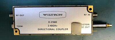 Anritsuwiltron D-21602 Directional Coupler 2-40ghz