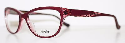 KENSIE LACE MAROON New Cats Eye Optical Eyeglass Frame For Women