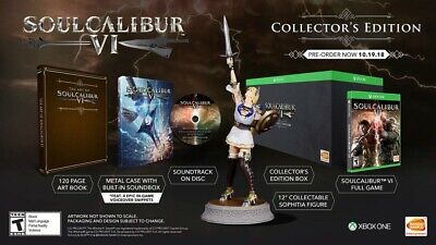 Soul Calibur VI(6): Collector's Edition (Microsoft Xbox One, 2018) for sale  Elsipogtog First Nation