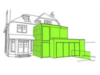 Architectural Drawings, Planning, Building Regulations, Extension Design,