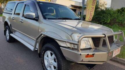 2004 Holden Rodeo LT dual cab