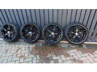 """BMW F20 alloy wheels and tyres 19"""" brand new style 361"""