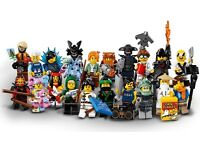 Lego Ninjago Movie Minifigure Collection