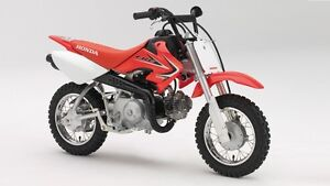 Wanted: 50cc and 70cc dirt bikes