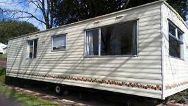 For sale cheap 3 bedroom static caravan £15,995 inc site fees, Devon, pet friendly