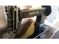 Vintage Singer embroidery machine 114w103 chain - chenille stitch